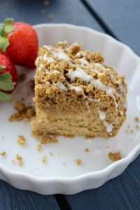 Perfect Gluten Free Coffee Cake