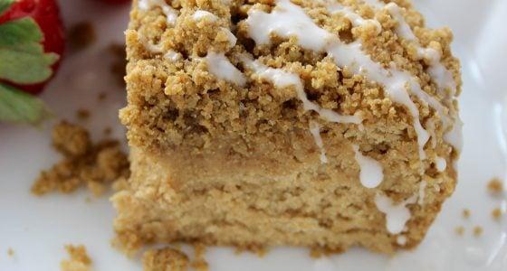 Perfect Gluten Free and Vegan Coffee Cake