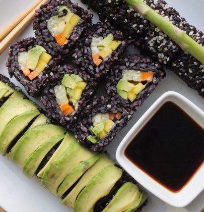 Vegan Sushi [Vegan, Gluten-Free]