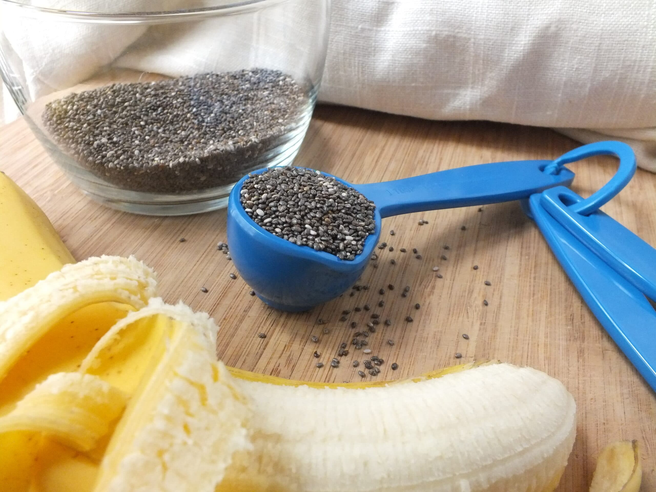 Cinnamon Banana Chia Pudding