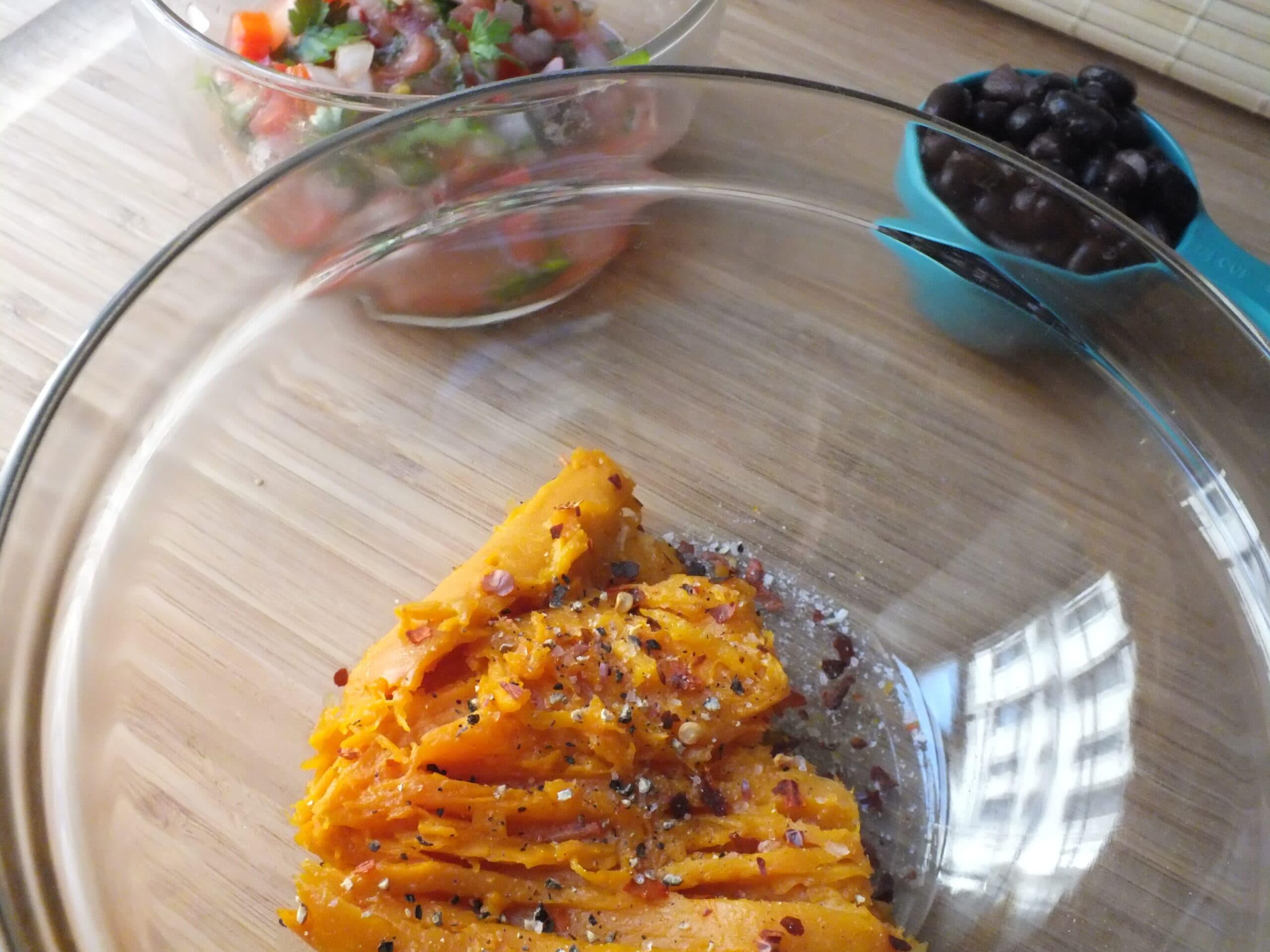 Sweet Potato Bites Mix Bowl