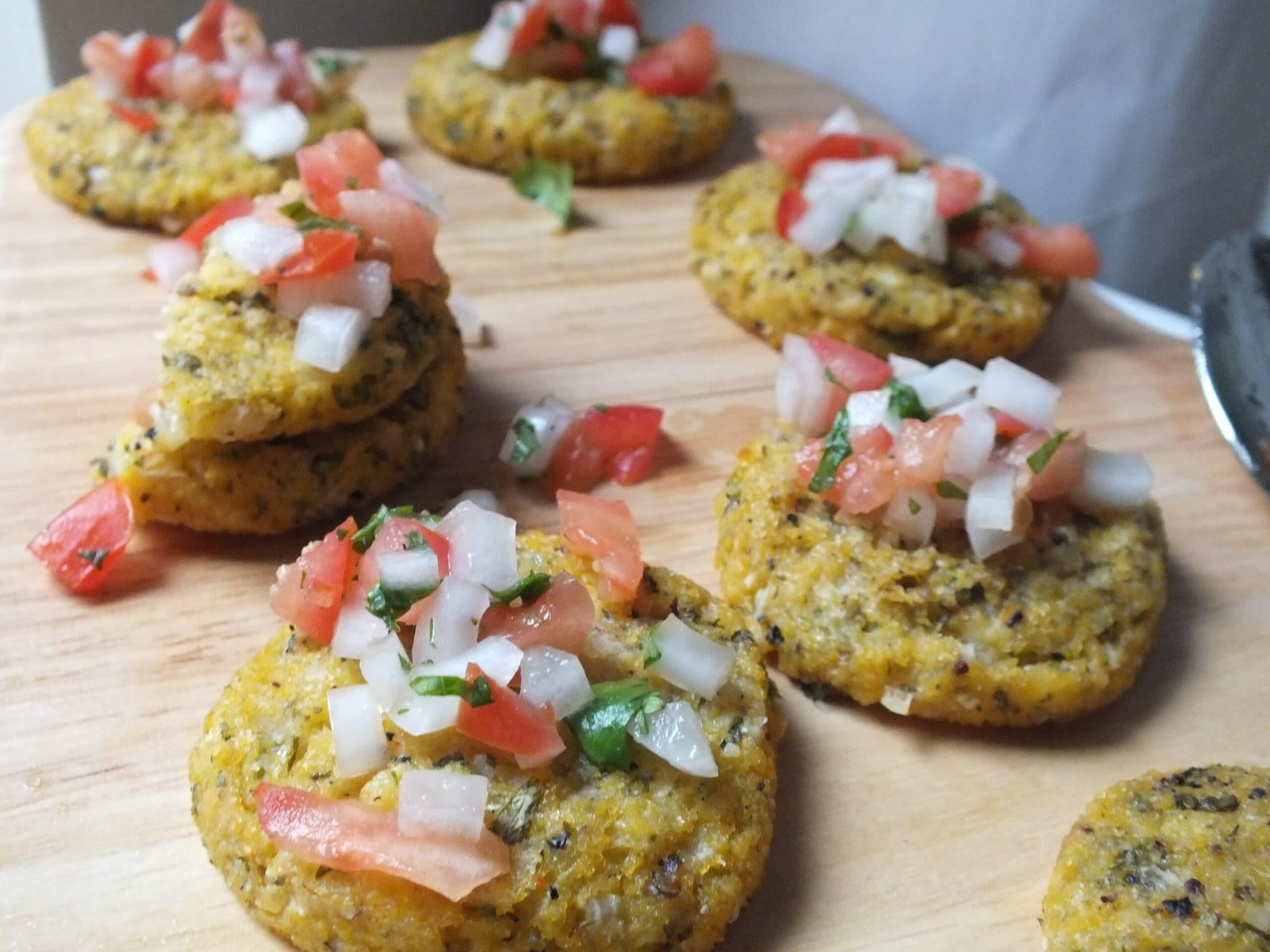 Spanish Polenta Cakes [Vegan, Gluten-Free, Dairy-Free]