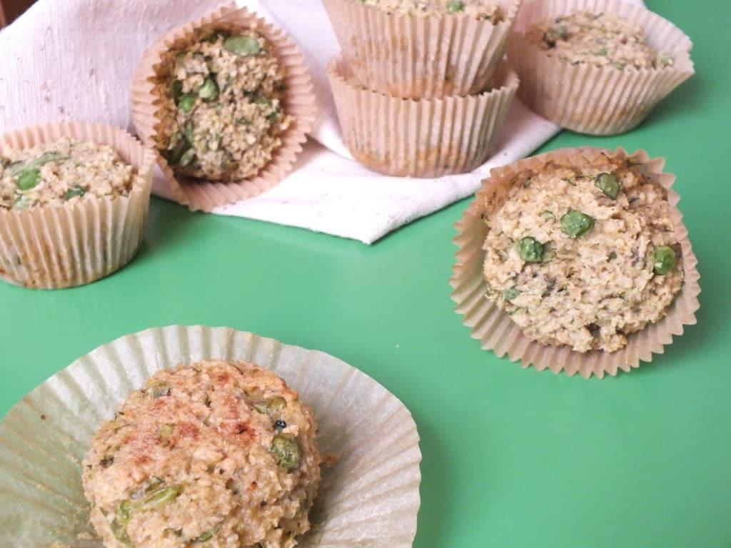 Selection of Savory Quinoa Cakes