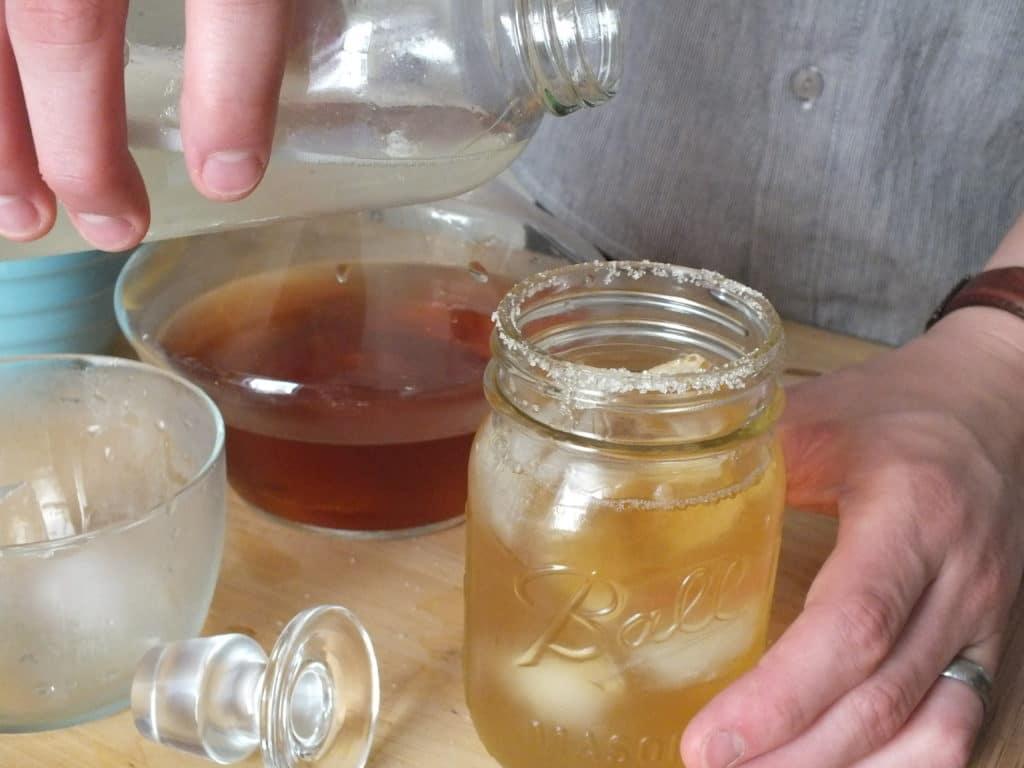Sparkling Rum Lemonade