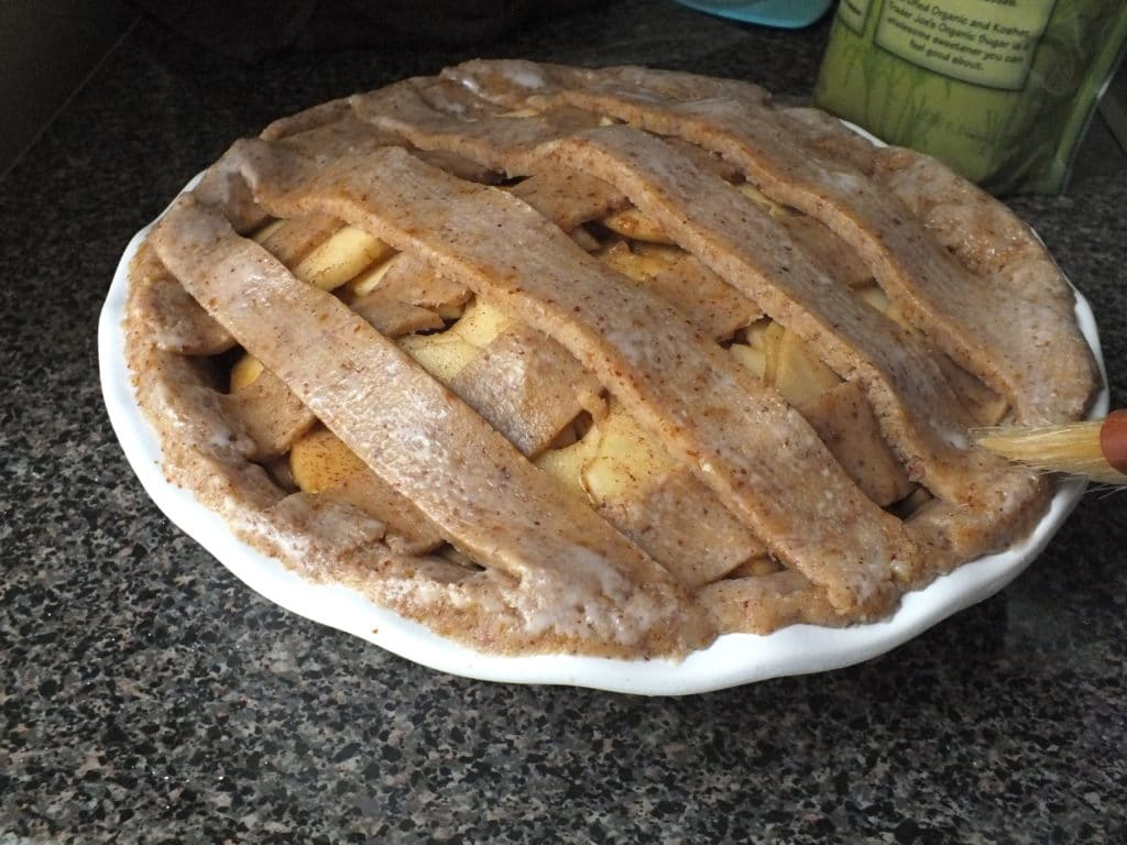 Americana Apple Pie Glazing