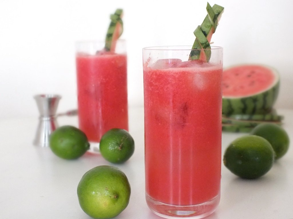 Watermelon Lime Daiquiri
