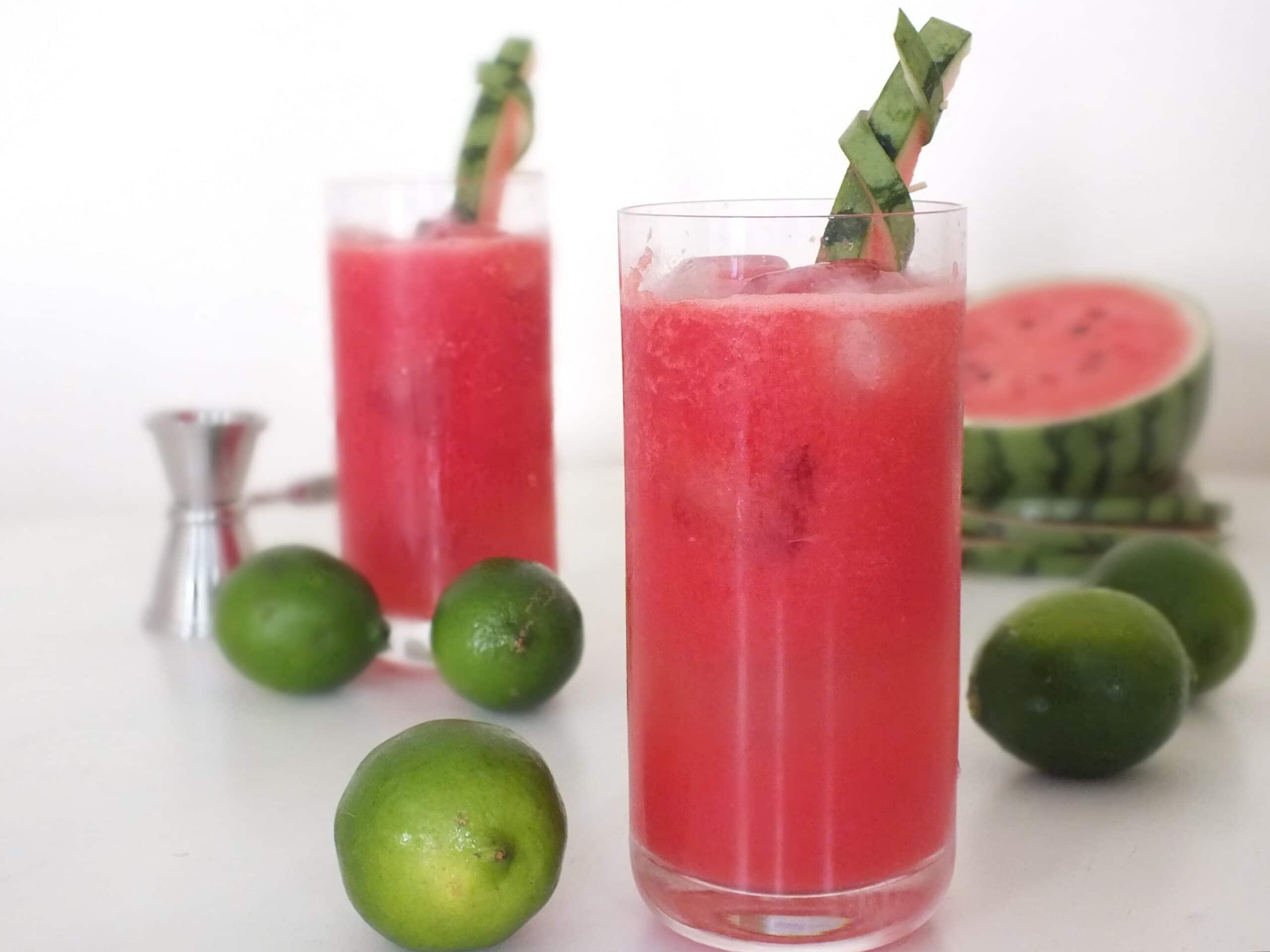 Watermelon Lime Daiquiri