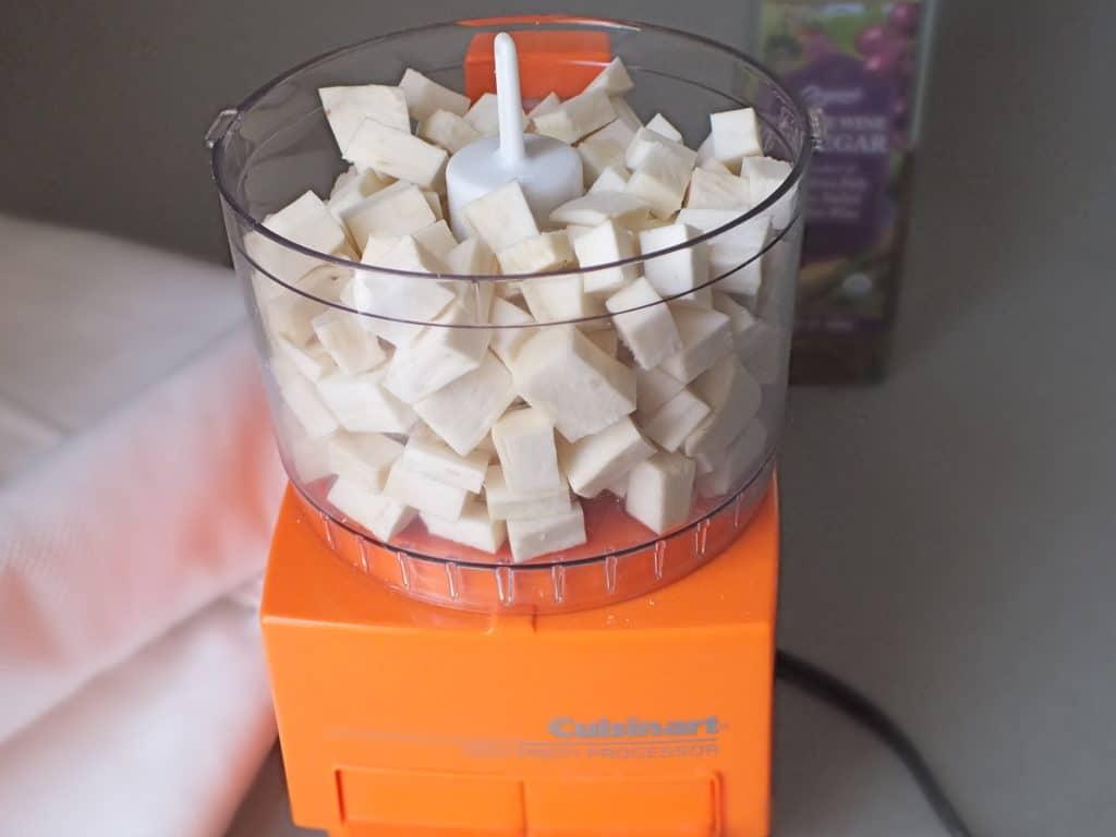 Homemade Horseradish Mixer