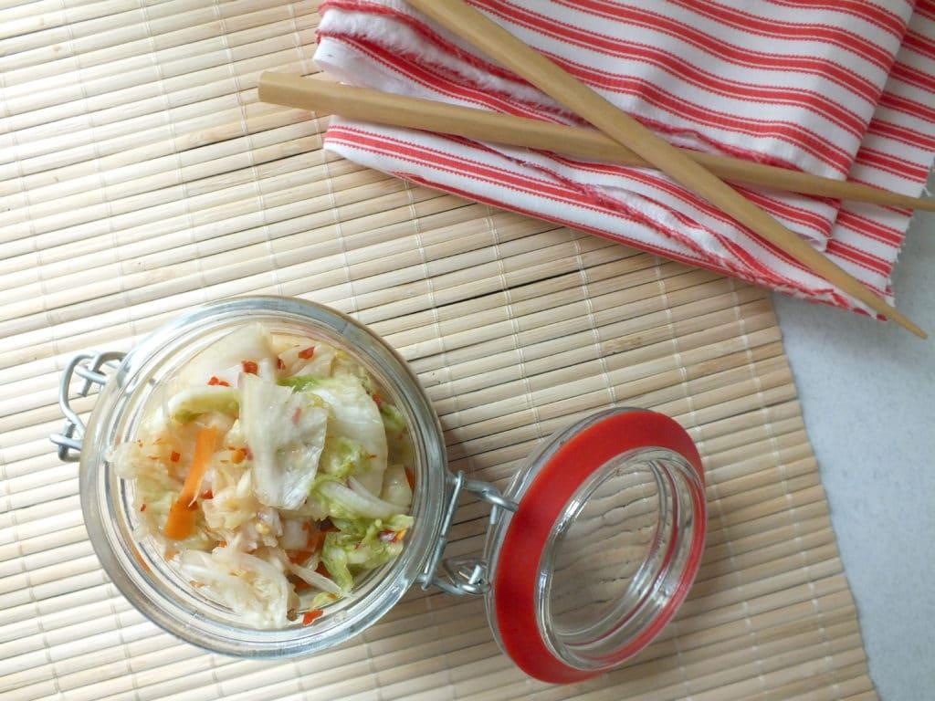 Kimchi Jar Chop Sticks Towel