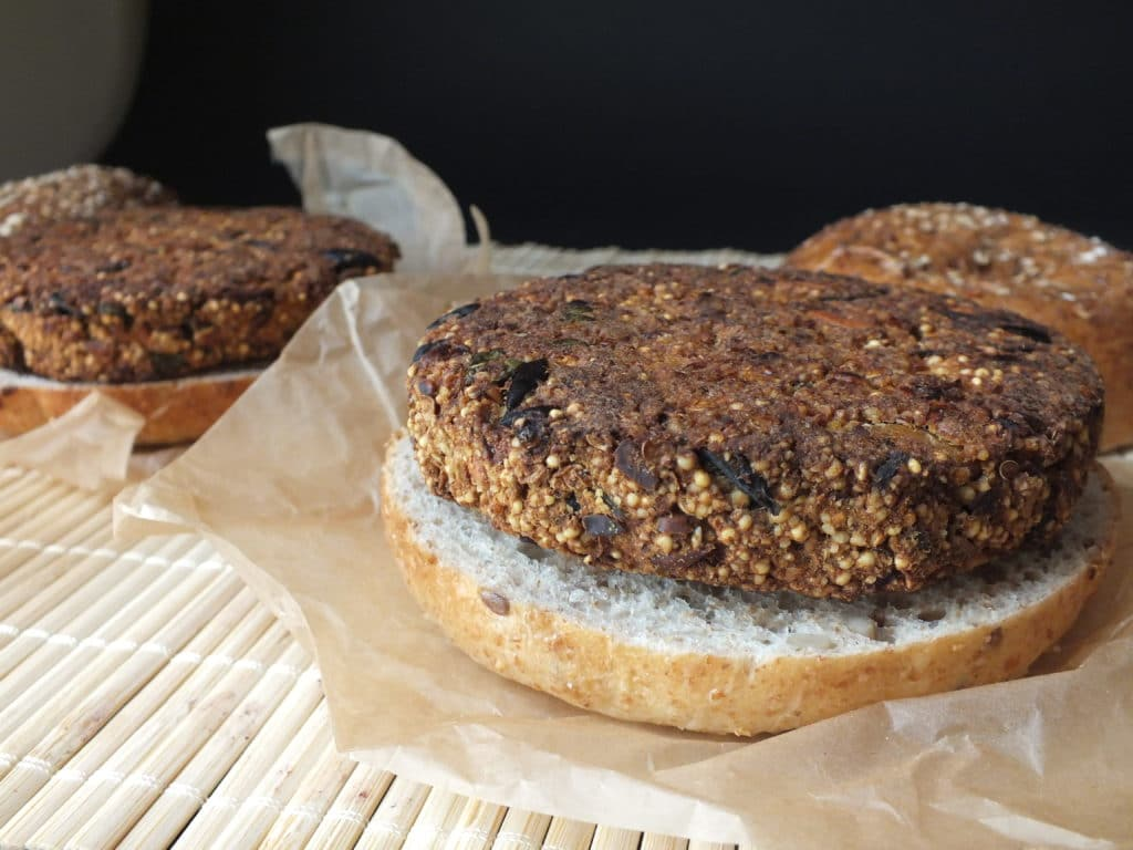 Eggplant Burgers | The Fitchen
