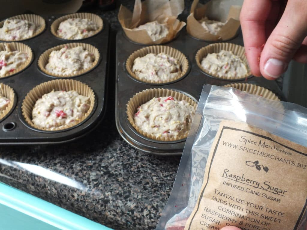 Raspberry Lemon Millet Muffins