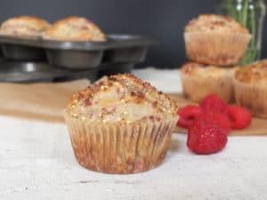 Raspberry Lemon Millet Muffins [Gluten-Free]