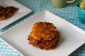 Sweet Potato Hash Browns [Gluten-Free, Vegan, Dairy-Free]