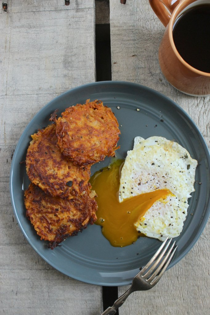 Sweet Potato Hash Browns – Crispy, crunchy rounds that are perfect for breakfast or brunch. Sometimes I even make these for dinner as a savory side!