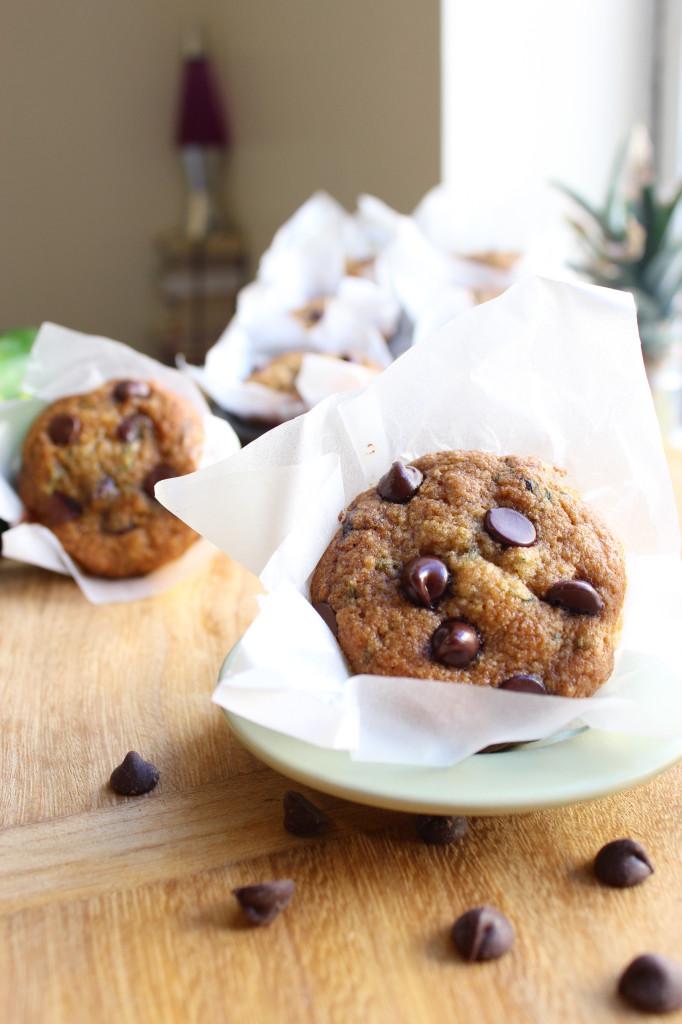 Chocolate Chip Zucchini Muffins
