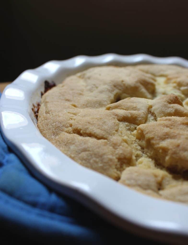 Easy Gluten-Free Pot Pie Close up