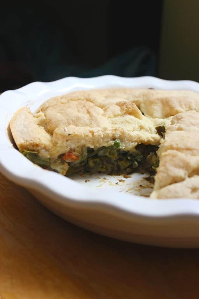Inside Gluten-Free Pot Pie