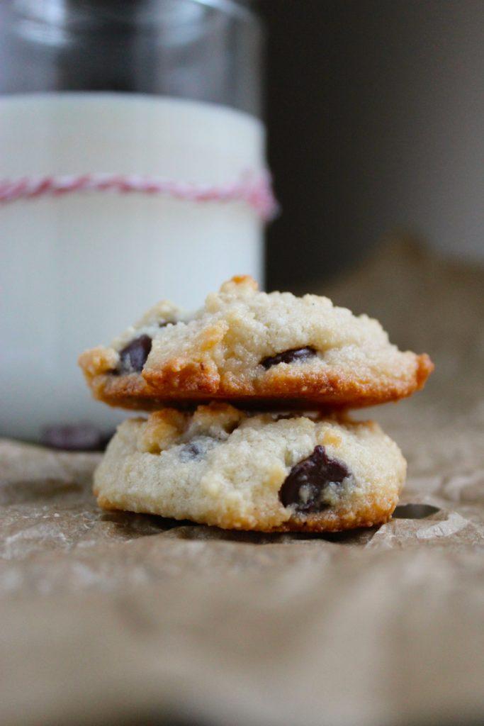 2 Gluten-Free Chocolate Chip Cookies