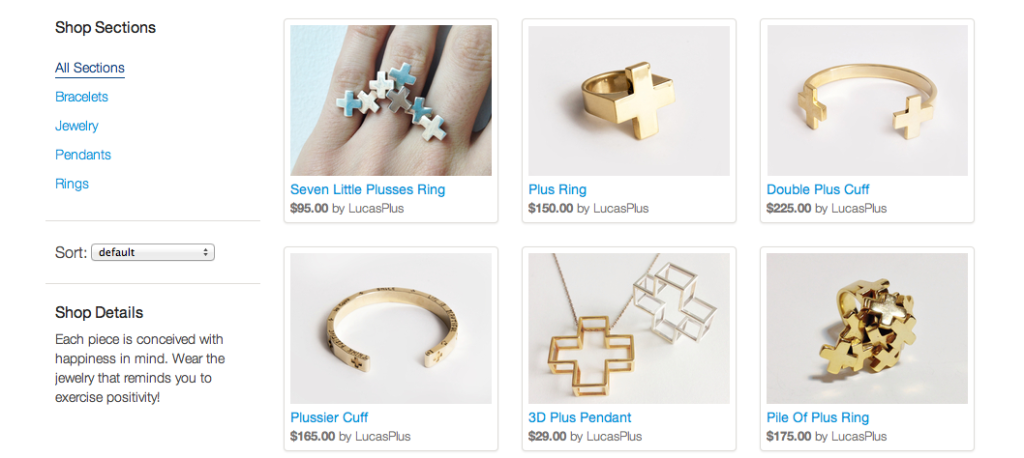 Holiday Shoutout: Lucas Plus Jewelry