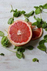 Grapefruit Mint Popsicles