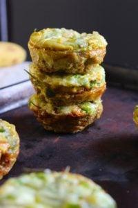 Sweet Potato Quiche Muffins