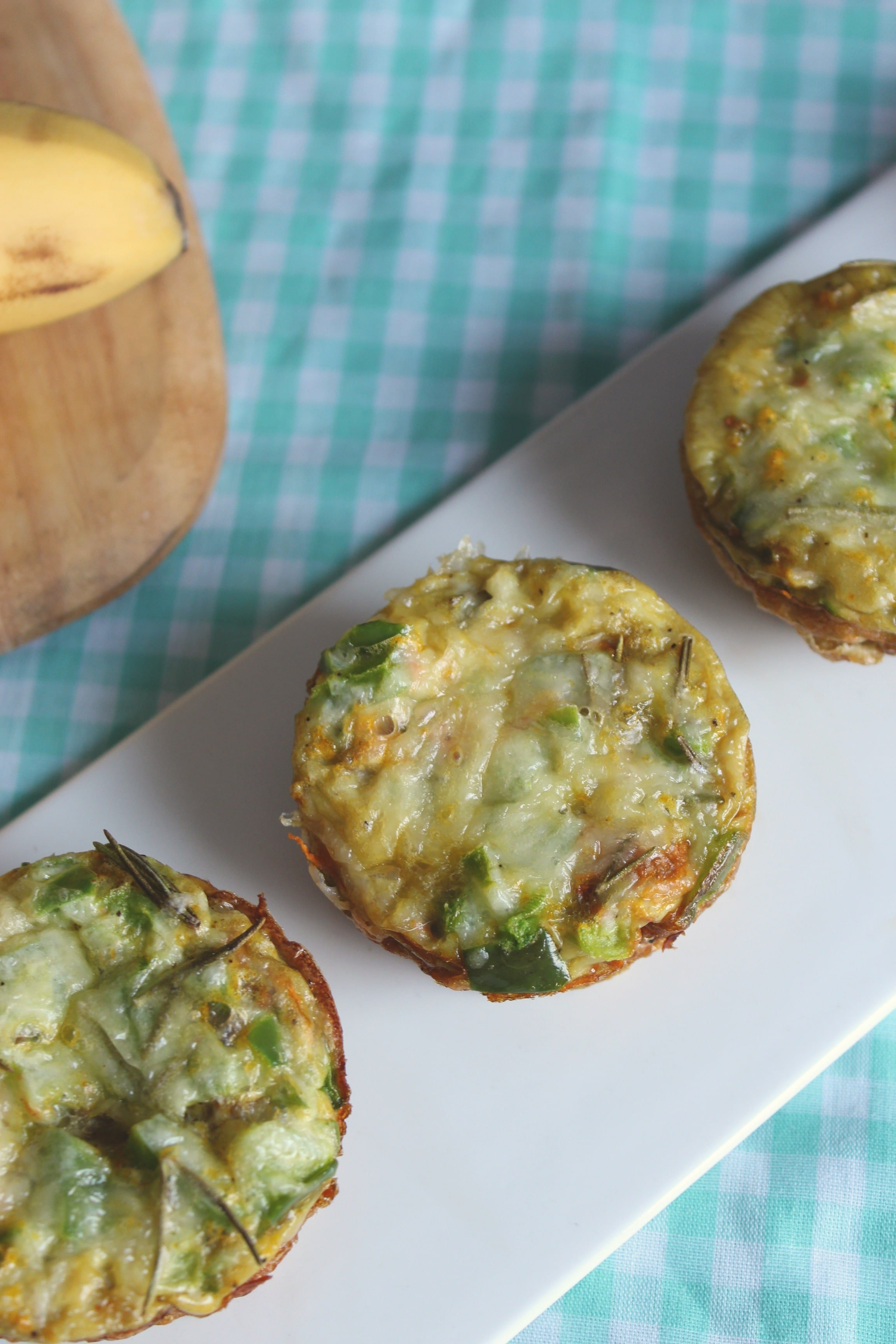 Sweet Potato Quiche Muffins