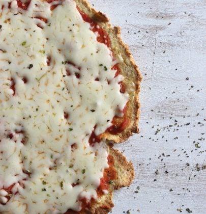 Crispy Gluten-Free & Vegan Pizza Crust