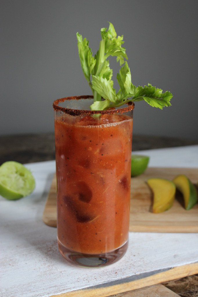 Chili Mango Bloody Mary