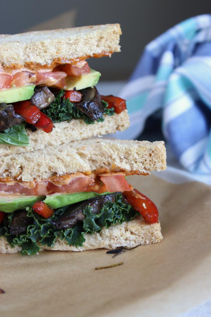 Sauteéd Veggie Sandwich