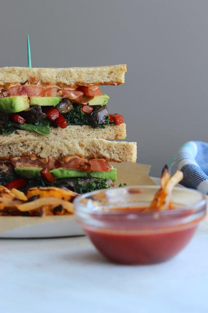 Sauteéd Veggie Sandwich Bowl