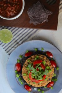 The Fajita Burger and The Burger Book | an all gluten-free veggie burger ecookbook from The Fitchen