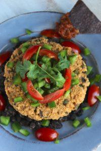 The Fajita Burger and The Burger Book | an all gluten-free veggie burger ecookbook from The Fitchen