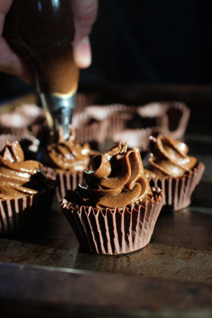 4 Mini Chocolate Truffle Cups