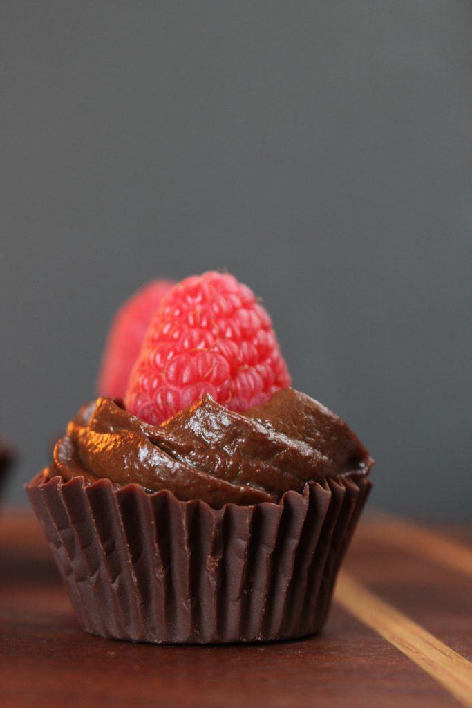 2 Mini Chocolate Truffle Cups