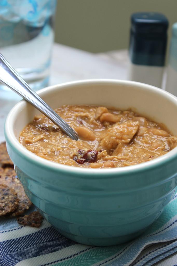 Chipotle White Bean Chicken Chili