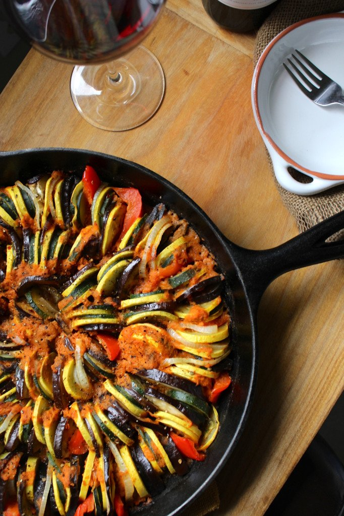 Simple Cast Iron Skillet Ratatouille From The Fitchen