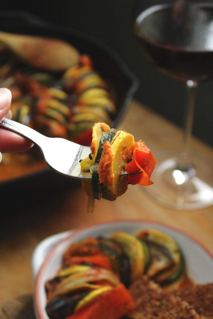 Ratatouille Fork Wine Glass