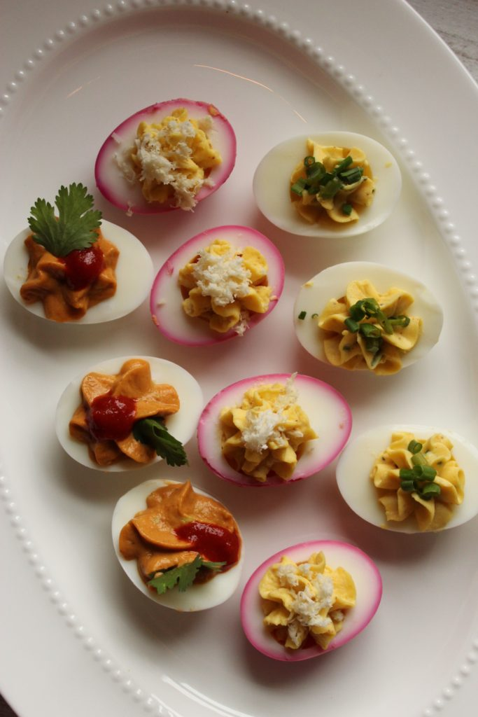 10 Deviled Eggs Three Ways