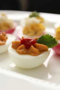 Deviled Eggs Three Ways – The Fitchen