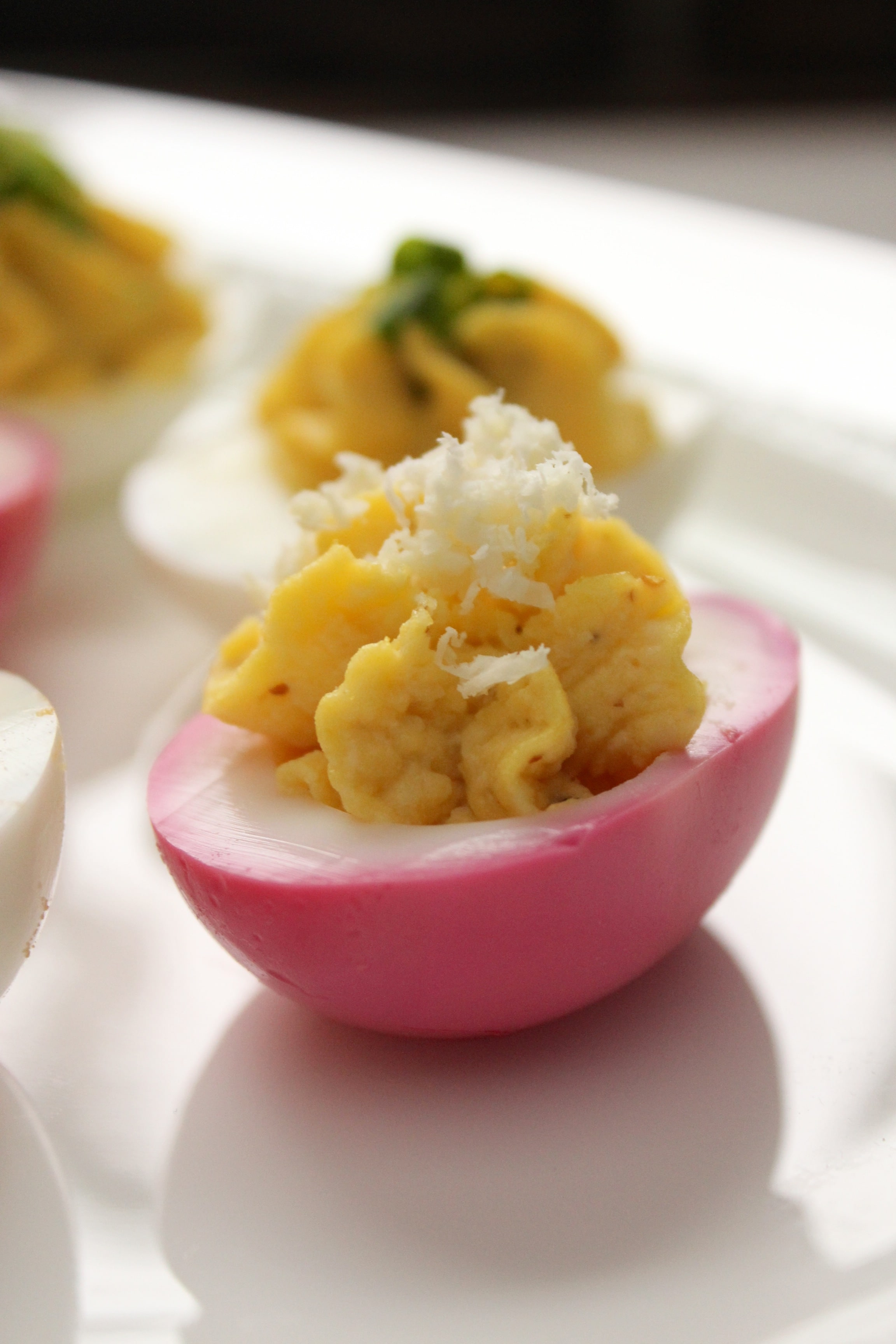 Deviled Eggs Three Ways – The Fitchen