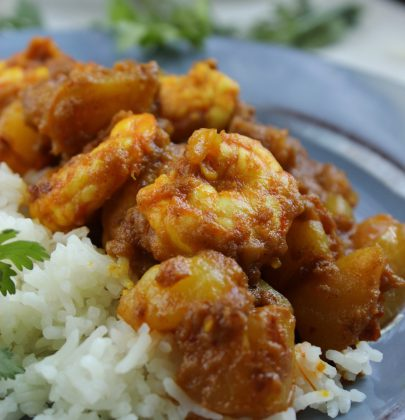 Spicy Shrimp Vindaloo