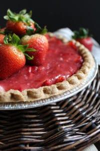 Easy No Jell-o Strawberry Pie