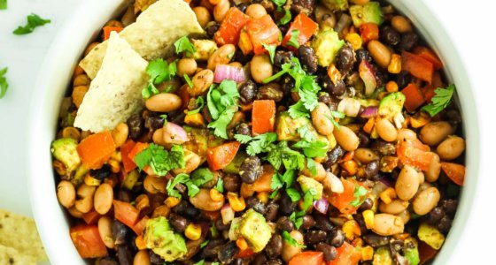 Healthy Avocado Bean Salad