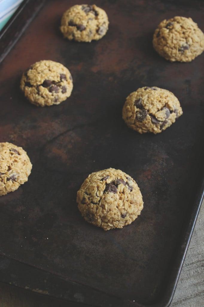 Clark's Vegan and Gluten Free Chocolate Chip Cookies