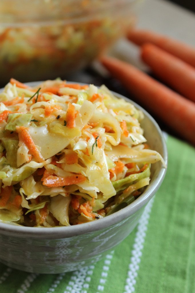 Tangy Vegan Cole Slaw – The Fitchen