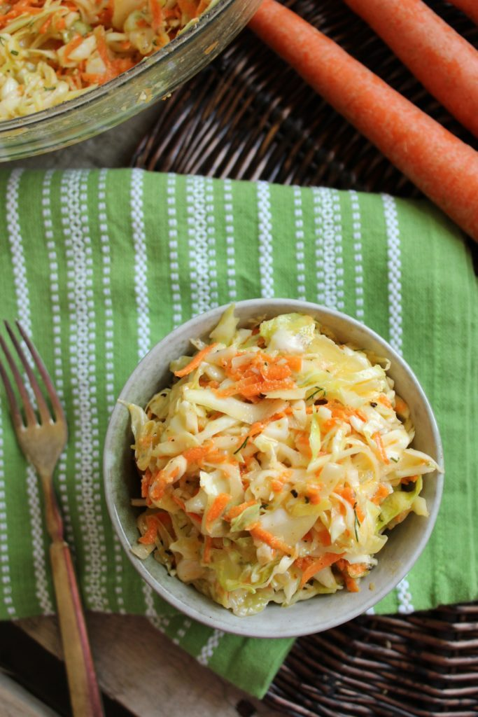 Tangy Vegan Cole Slaw  Fork and Carrots