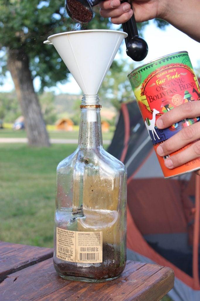 Coffee Bottle Funnel