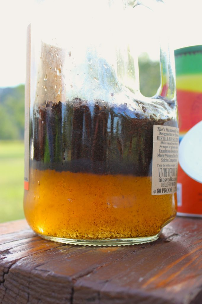 Easy Overnight Cold Brew Coffee Bottle