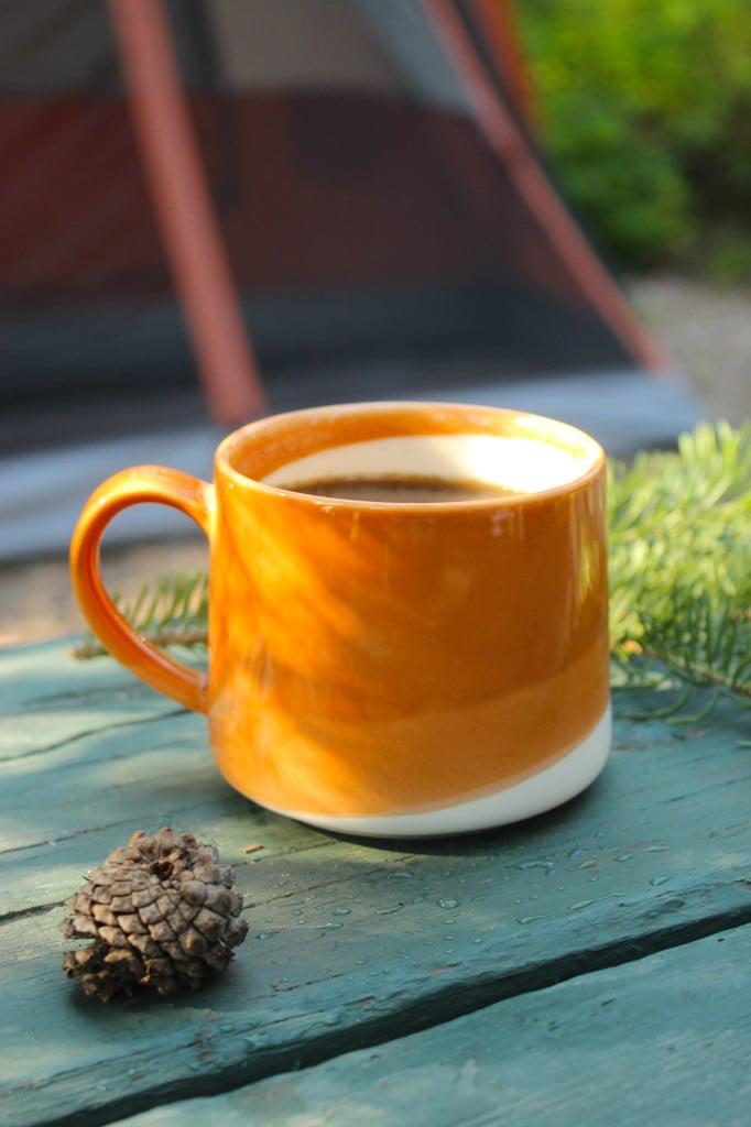 Easy Overnight Cold Brew Coffee Mug Pine Cone