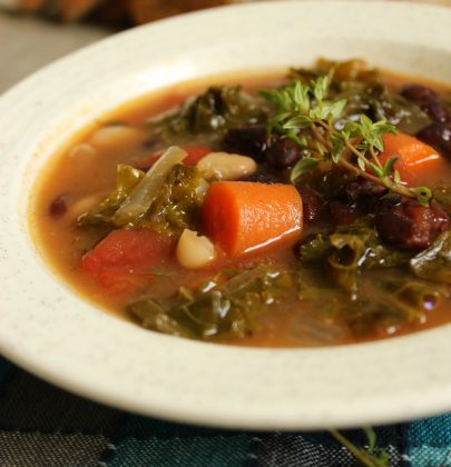 Crockpot Kale Vegetable Soup